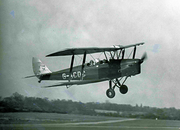 G-ACDC DH Tiger Moth 2