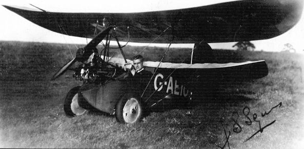 G-AEIO Flying Flea Steve Squires 1936
