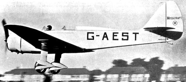 G-AEST 2 with open cockpit
