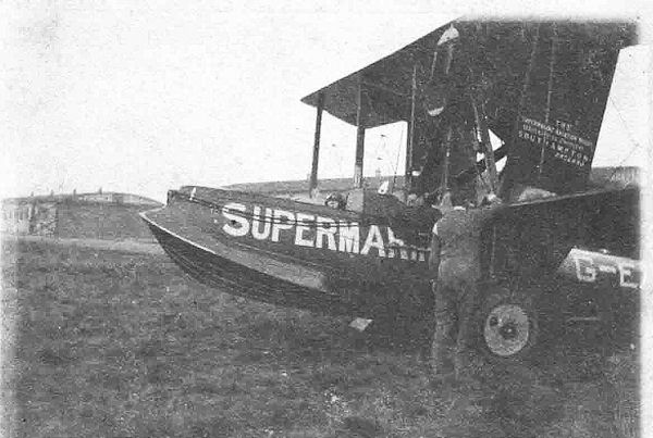 G-AEVE Supermarine Ampihibian Aug-Oct 1920