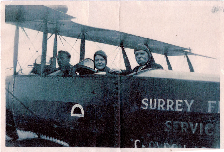 William Pask and Rosa Surrey Flying Services