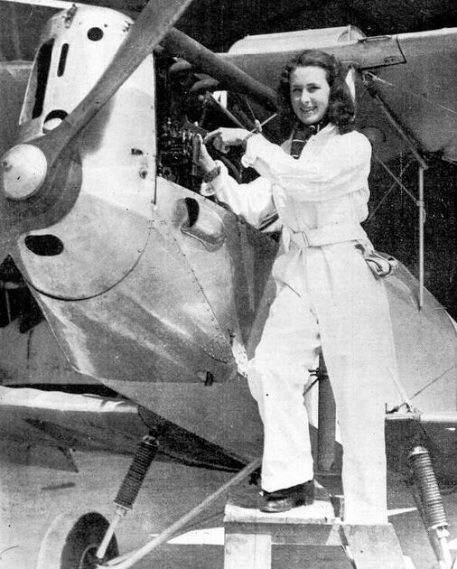 joan broadsmith Empire Air Day 1939