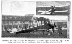 Air Circus Avro Hendon 1919