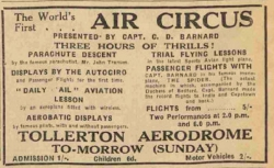 Air Circus Charles (CD) Barnard 1931 (2)