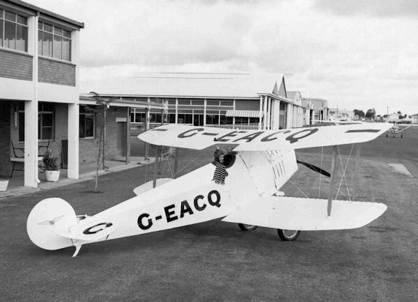 G-EACQ Bert Hinklers Avro Baby at Brisbane in July 1972