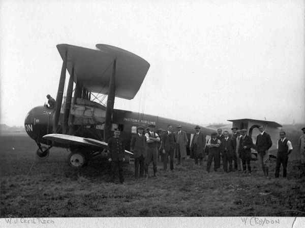 G-EASI Vickers Vimy Commercial of Instone Airline