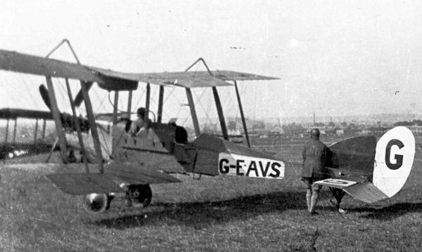 G-EAVS RAF BE2e of RAeC